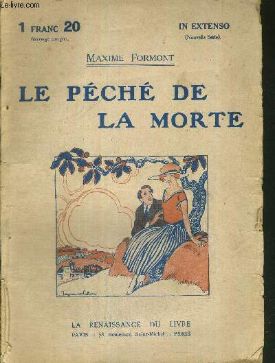 LE PECHE DE LA MORTE - N°195 - COLLECTION IN EXTENSO