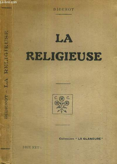 LA RELIGIEUSE - COLLECTION LA GLANEUSE