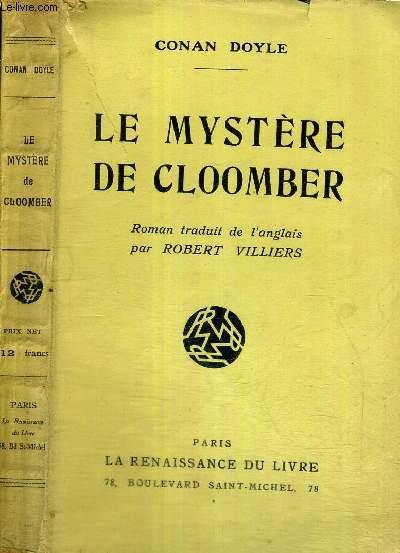 LE MYSTERE DE CLOOMBER