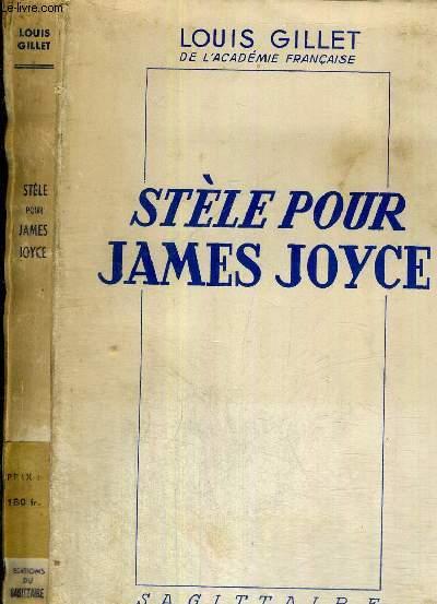 STELE POUR JAMES JOYCE