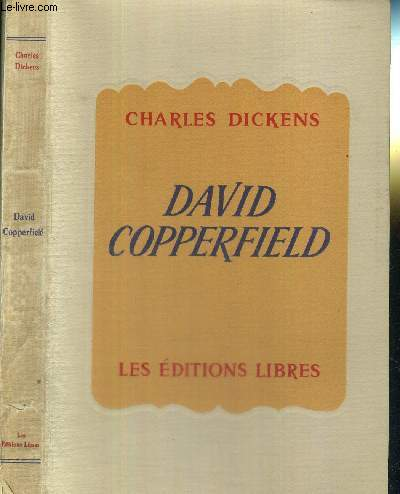 DAVID COPPERFIELD - EXEMPLAIRE NUMEROTE