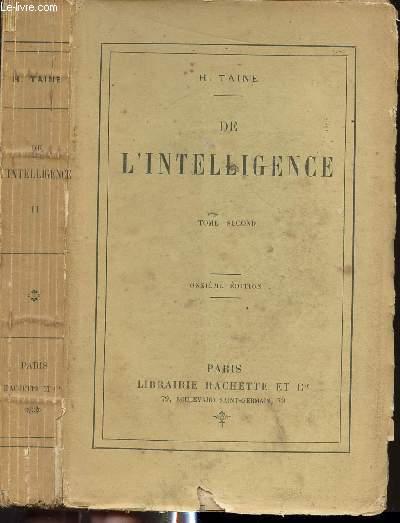 DE L'INTELLIGENCE - TOME SECOND