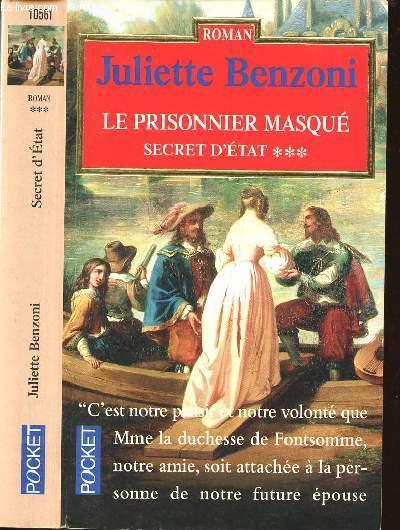 SECRET D'ETAT - TOME 3 - LE PRISONNIER MASQUE