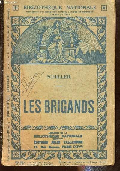 LES BRIGANDS - DRAME EN CINQ ACTES - BIBLIOTHEQUE NATIONALE