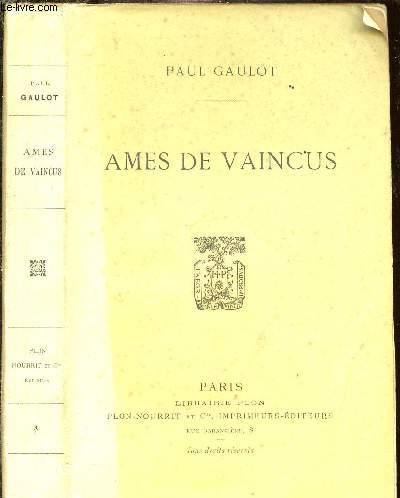 AMES DE VAINCUS