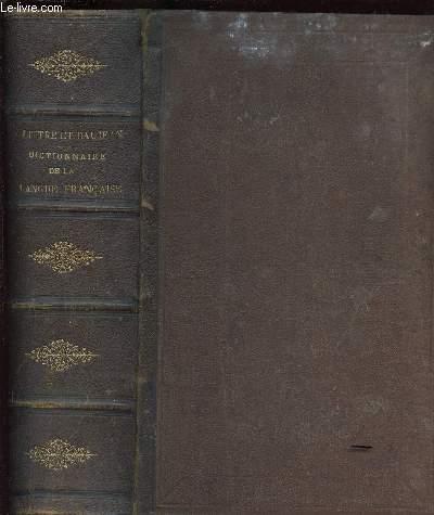 DICTIONNAIRE DE LA LANGUE FRANCAISE ABREGE DU DICTIONNAIRE DE E. LITTRE