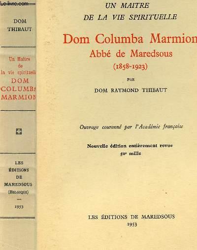 DOM COLUMBA MARMION - ABBE DE MAREDSOUS (1858-1923)