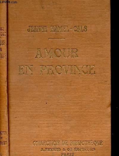 AMOUR EN PROVINCE- COLLECTION DE BIBLIOTHEQUE N°5