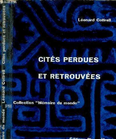 CITE PERDUES ET RETROUVEES