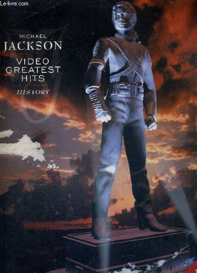 1 LASERDISC - MICHAEL JACKSON - VIDEO GREATEST HITS - HISTORY - 10 of the greatest short films of all time by the king of pop / ...