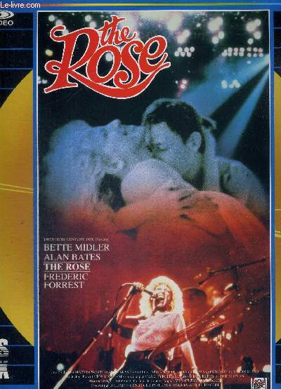 1 DOUBLE LASERDISC - THE ROSE - UN FILM DE MARK RYDELL - AVEC BETTE MIDLER