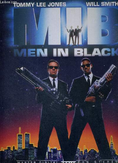 1 LASERDISC - MENI IN BLACK - UN FILM DE BARRY SONNENFELD - AVEC TOMMY LEE JONES ET WILL SMITH