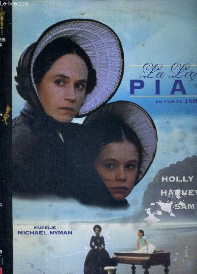 1 LASERDISC - LA LECON DE PIANO - UN FILM DE JANE CAMPION - AVEC HOLLY HUNTER - HARVEY KEITEL ET SAM NEILL