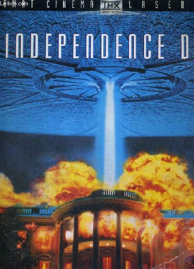 1 DOUBLE LASERDISC - INDEPENDENCE DAY - UN FILM DE ROLAND EMMERICH - AVEC WILL SMITH - BILL PULLMAN ET JEFF GOLDBLUM
