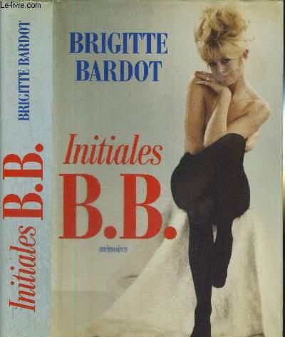 INITIALES B.B. - MEMOIRES