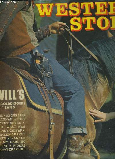 1 DISQUE AUDIO 33 TOURS - WESTERN STORY - THE HOTVILL'S AND THE GOLDDIGGERS