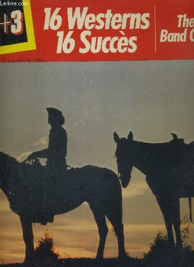 1 DISQUE AUDIO 33 TOURS - 16 WESTERNS 16 SUCCES - THE TEXAS BAND ORCHESTRA / il était une fois dans l'ouest / le bon, la brute et le truand / la conquête de l'ouest / yankee doodle / il était une fois la révolution / l'homme à l'harmonica...