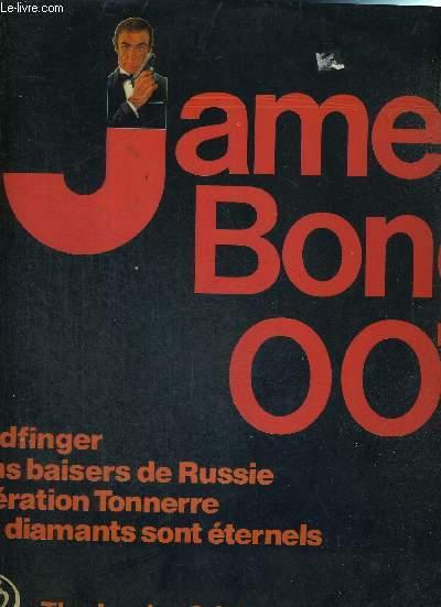 1 DISQUE AUDIO 33 TOURS - JAMES BOND 007 - THE LONDON ORIGINAL SOUNDS ORCHESTRA / Goldfinger / bons baisers de Russie / opération tonnerre / les diamants sont éternels...