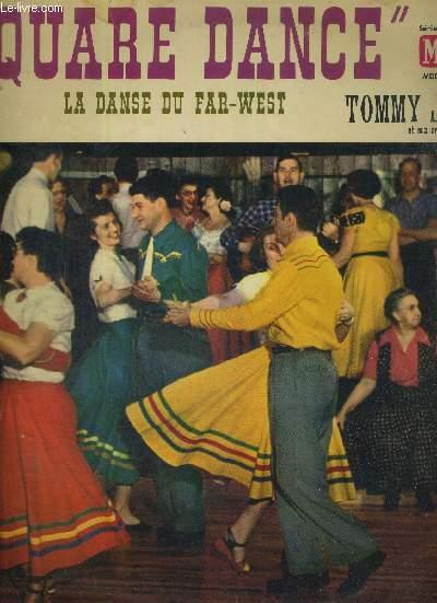 1 DISQUE AUDIO 33 TOURS - SQUARE DANCE - LA DANSE DU FAR-WEST- TOMMY JACKSON ET SON ORCHESTRE / Tennessee wagoner / Jackson's hornipe / sally Johnson / stone's rag / gray eagle...
