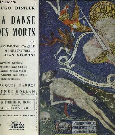 1 DISQUE AUDIO 33 TOURS - LA DANSE DES MORTS -