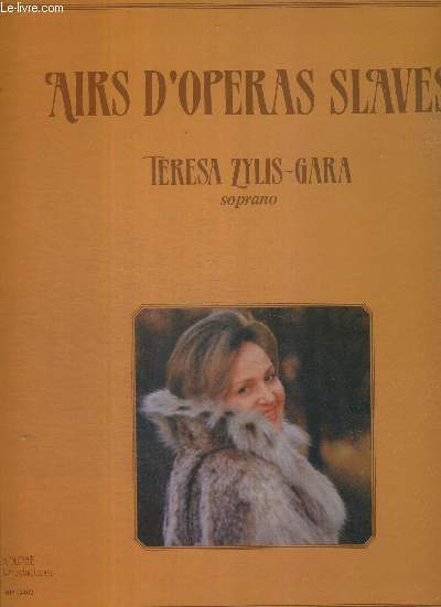 1 DISQUE AUDIO 33 TOURS - AIRS D'OPERAS SLAVES / Russalka