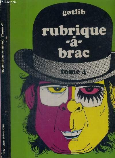 RUBRIQUE-A-BRAC - TOME 4