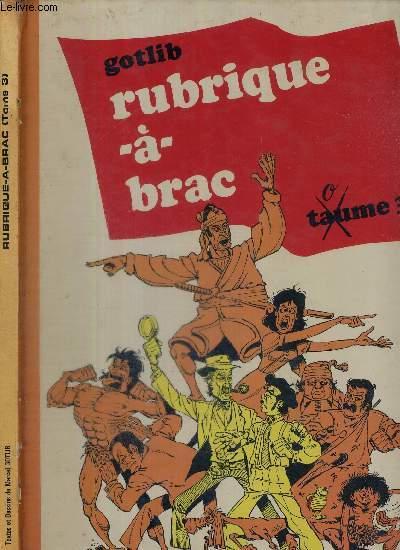 RUBRIQUE-A-BRAC - TOME 3
