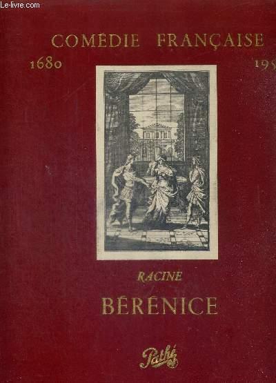 1 COFFRET : 2 DISQUES VINYLES 33 TOURS + 1 LIVRET : BERENICE, DE RACINE - COMEDIE FRANCAISE 1680-1957