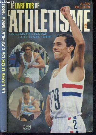 LE LIVRE D'OR DE L'ATHLETISME 1980