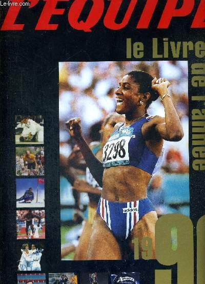 L'EQUIPE - LE LIVRE DE L'ANNEE 1996