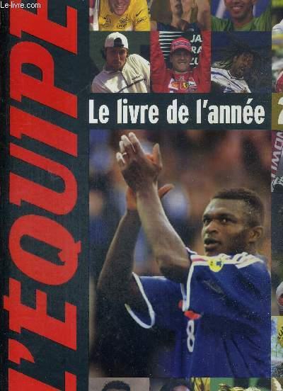 L'EQUIPE - LE LIVRE DE L'ANNEE 2001