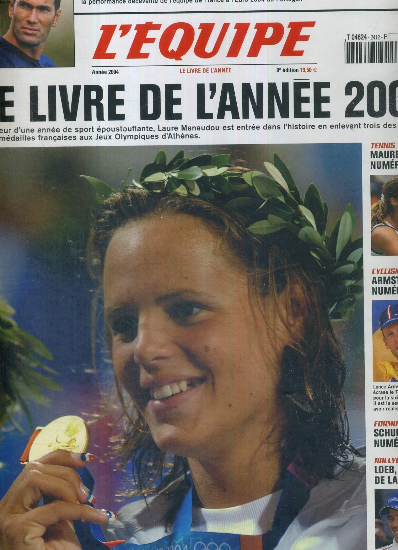 L'EQUIPE - LE LIVRE DE L'ANNEE 2004