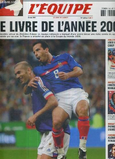 L'EQUIPE - LE LIVRE DE L'ANNEE 2005