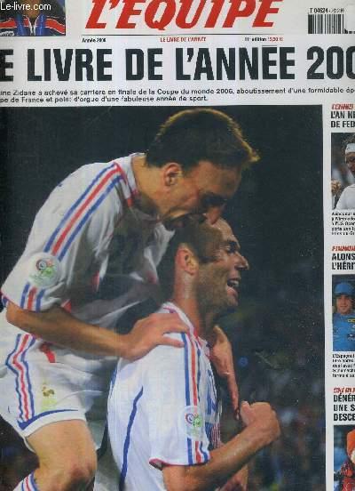L'EQUIPE - LE LIVRE DE L'ANNEE 2006