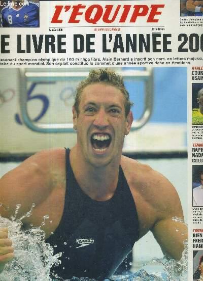 L'EQUIPE - LE LIVRE DE L'ANNEE 2008