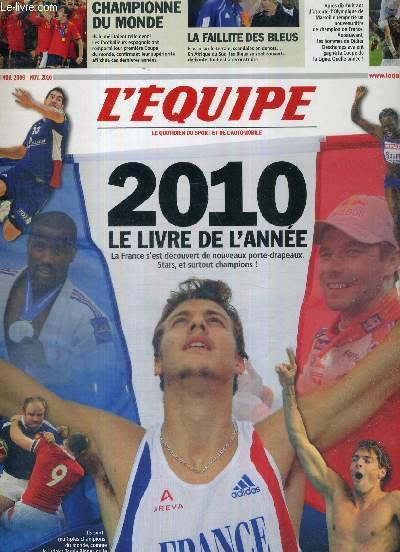 L'EQUIPE - LE LIVRE DE L'ANNEE 2010
