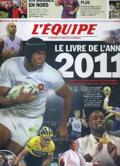 L'EQUIPE - LE LIVRE DE L'ANNEE 2011