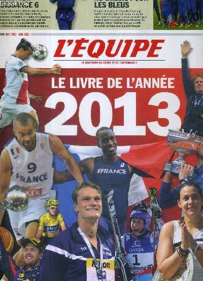 L'EQUIPE - LE LIVRE DE L'ANNEE 2013