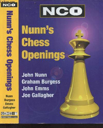 Nunn's Chess Openings - Nco