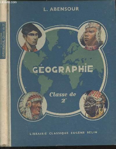 Géographie  - Classe de 2e