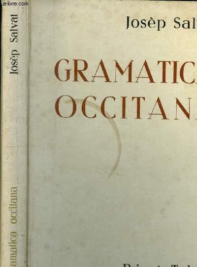 Grammaire Occitane des parlers Languedociens