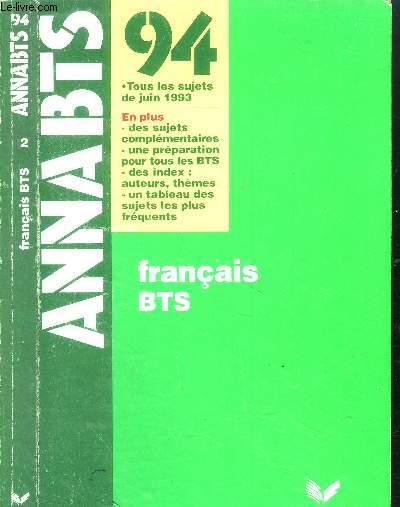 Anna Bts Francais Bts