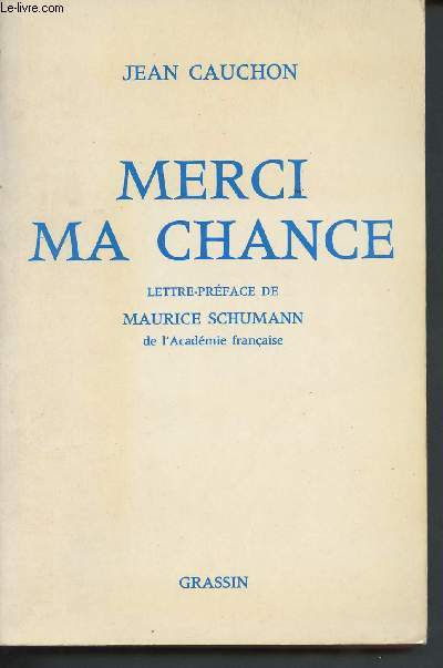 Merci ma chance (Collection
