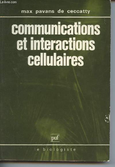 Communications et interactions cellulaires (Collection