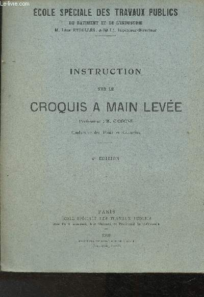 Instruction sur le croquis à mais levée (Collection de l