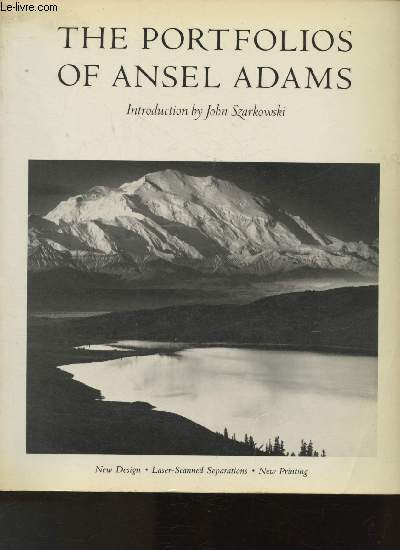 The portfolios of Ansel Adams- Texte en anglais.