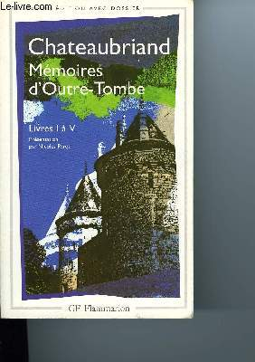 MEMOIRES D'OUTRE-TOMBE
