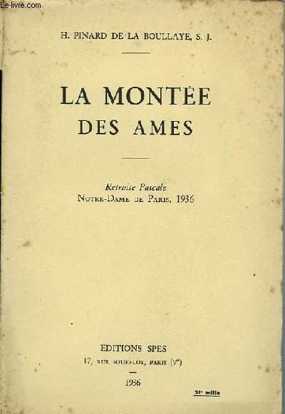 LA MONTEE DES AMES