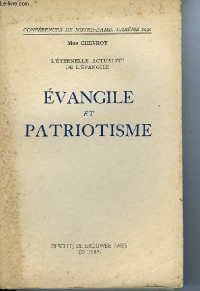 EVANGILE ET PATRIOTISME