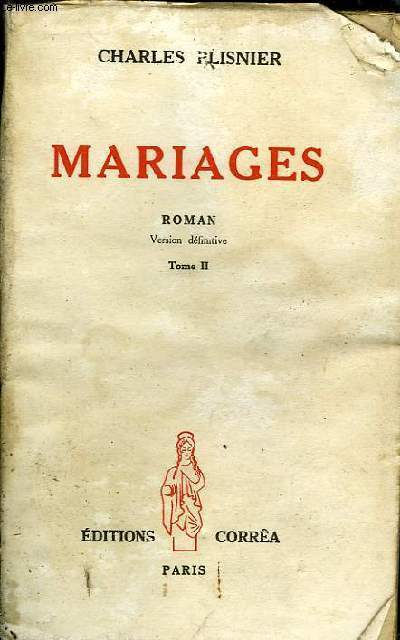 MARIAGES Tome II